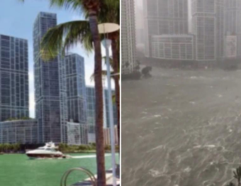 Before and After Irma