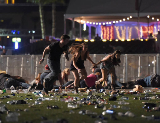 A Day of Carnage in Las Vegas, and Selflessness